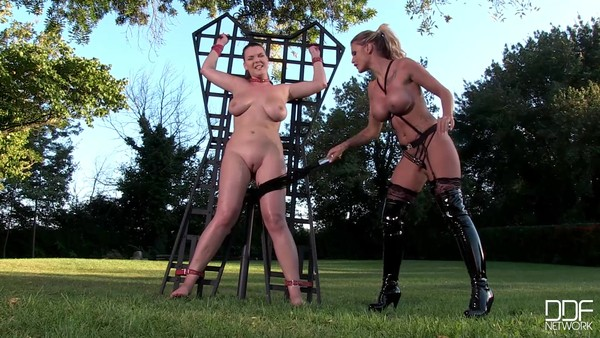 Blonde made for Busty brunettes in BDSM