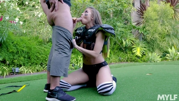 The athlete with big Tits is brought to orgasm