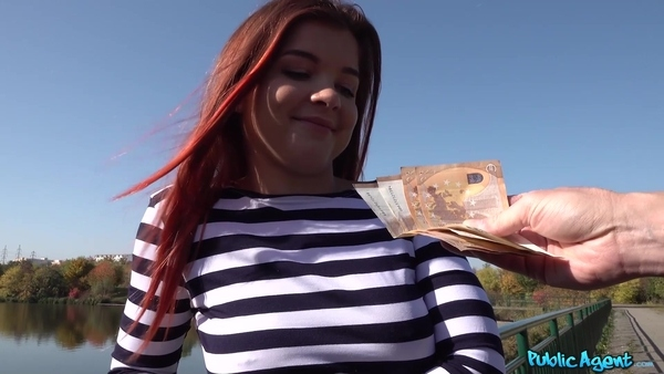 Young teen had given herself to a stranger guy for money in the forest