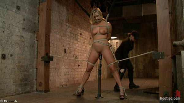Related girl in sexy bondage